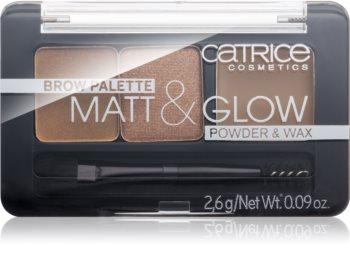 Catrice Matt & Glow sada na obočie