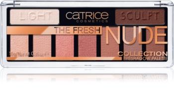 Catrice The Fresh Nude Collection oční stíny