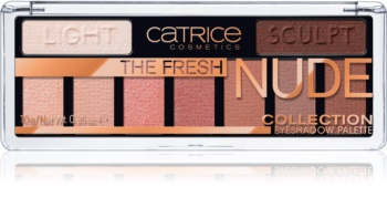 Catrice The Fresh Nude Collection ombretti