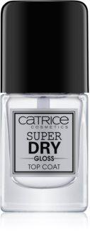 Catrice Super Dry Gloss lakier nawierzchniowy do paznokci przyspieszający zasychanie