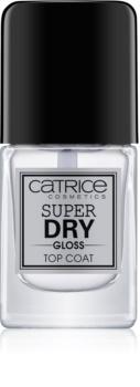 Catrice Super Dry Gloss закріплювач лаку для нігтів прискорювач висихання