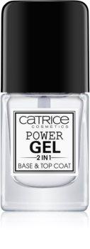 Catrice Power Gel 2 in1 bázis- és fedőlakk