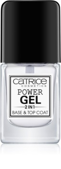 Catrice Power Gel 2 in1 βάση και τοπ βερνίκι νυχιών