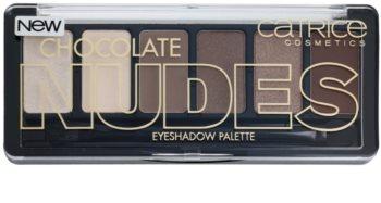 Catrice Chocolate Nudes paleta cieni do powiek z aplikatorem