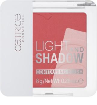Catrice Light & Shadow colorete de contorno