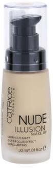 Catrice Nude Illusion maquillaje de larga duración
