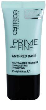 Catrice Prime And Fine baza zmniejszająca zaczerwienienia