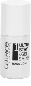Catrice Ultra Stay & Gel Shine prebase para una mejor adhesión del esmalte de uñas