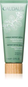 Caudalie Masks&Scrubs máscara de limpeza profunda para redução de poros
