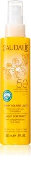 Caudalie Suncare  schützende Sonnenmilch im Spray SPF 50