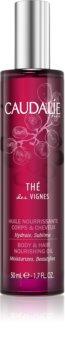 Caudalie Thé Des Vignes olio nutriente per corpo e capelli