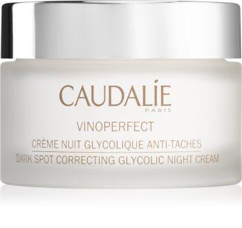 Caudalie Vinoperfect ночной крем против пигментных пятен и для сияния кожи