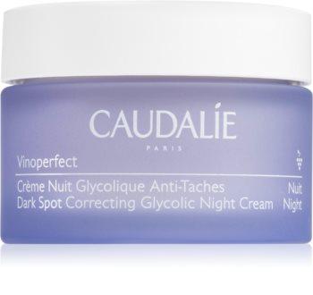 Caudalie Vinoperfect krem na noc przeciw przebarwieniom skóry