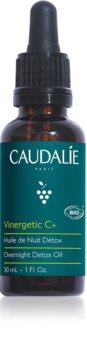 Caudalie Vinergetic C+ detoxikační olej na noc