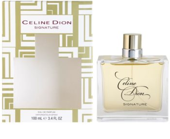 Celine Dion Signature Eau de Parfum para mulheres 100 ml