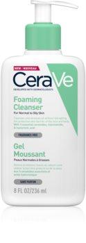 CeraVe Cleansers gel spumant de curatare pentru piele normala si grasa