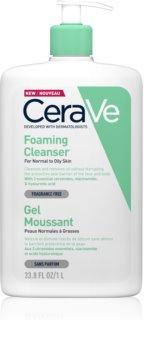 CeraVe Cleansers gel detergente in schiuma per pelli normali e grasse