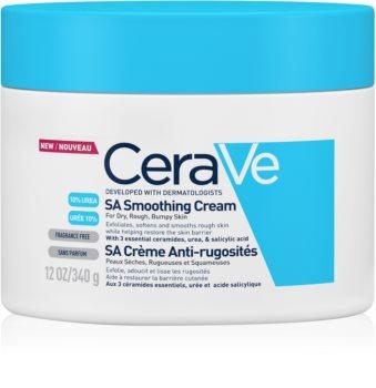 CeraVe SA creme hidratante suavizante para pele seca a muito seca