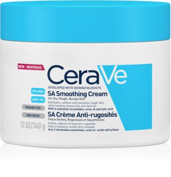 CeraVe SA Moisturizing Softening Cream For Dry To Very Dry Skin