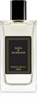 Cereria Mollá Basil & Mandarín spray lakásba