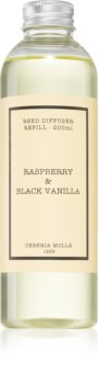 Cereria Mollá Boutique Raspberry & Black Vanilla reumplere în aroma difuzoarelor
