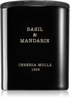Cereria Mollá Boutique Basil & Mandarin illatos gyertya