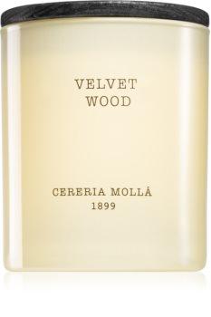 Cereria Mollá Boutique Velvet Wood Tuoksukynttilä