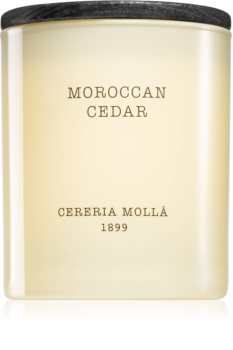 Cereria Mollá Boutique Moroccan Cedar bougie parfumée