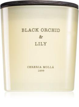 Cereria Mollá Boutique Black Orchid & Lily lumânare parfumată