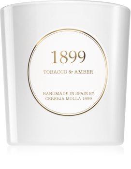 Cereria Mollá Gold Edition Tobacco & Amber bougie parfumée