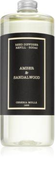 Cereria Mollá Boutique Amber & Sandalwood reumplere în aroma difuzoarelor
