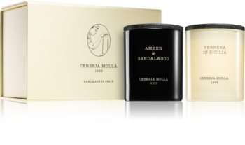 Cereria Mollá Boutique Amber & Sandalwood, Verbena di Sicilia Lahjasetti II.