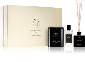 Cereria Mollá Boutique Basil & Mandarin подаръчен комплект I.