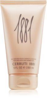 Cerruti 1881 Pour Femme tusfürdő gél hölgyeknek