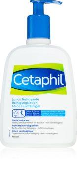 Cetaphil Cleansers lait nettoyant pour peaux sensibles et sèches