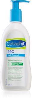 Cetaphil PRO Itch Control leite hidratante para corpo e rosto