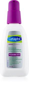 Cetaphil DermaControl Feuchtigkeit spendende und mattierende Creme für die Gesichtshaut mit Akne SPF 30