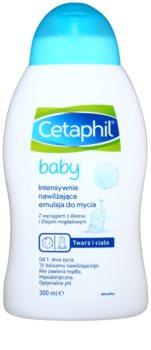 Cetaphil Baby intenzíven hidtatáló és tisztító emulzió gyermekeknek születéstől kezdődően