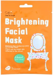 Cettua Clean & Simple Brightening Sheet Mask