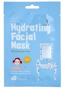 Cettua Clean & Simple máscara em filme com efeito altamente hidratante e nutritivo
