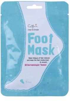 Cettua Clean & Simple hydratační maska na nohy