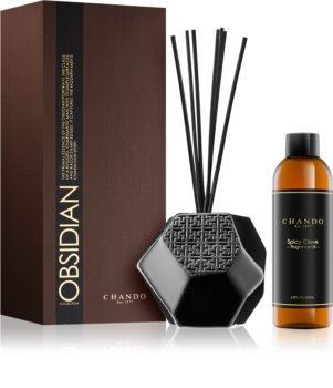 Chando Obsidian Spicy Clove aroma diffuser with filling