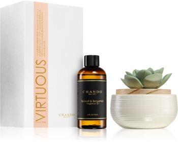 Chando Virtuous Tealeaf & Bergamot aroma difusor com recarga