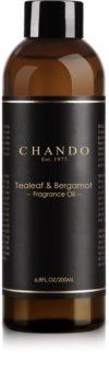 Chando Fragrance Oil Tealeaf & Bergamot náplň do aróma difuzérov