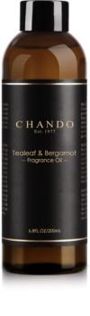 Chando Fragrance Oil Tealeaf & Bergamot náplň do aroma difuzérů
