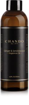 Chando Fragrance Oil Ginger & Sandalwood náplň do aróma difuzérov