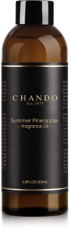 Chando Fragrance Oil Summer Pineapple aromadiffusor med genopfyldning