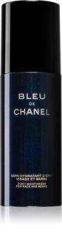 Chanel Bleu de Chanel nawilżający krem do twarzy i brody dla mężczyzn