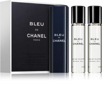 Chanel Bleu de Chanel toaletná voda (1x plniteľná + 2x náplň) pre mužov