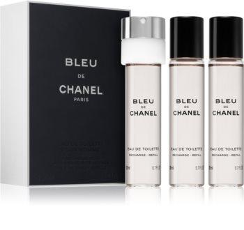Chanel Bleu de Chanel Eau de Toilette täyttöpakkaus Miehille